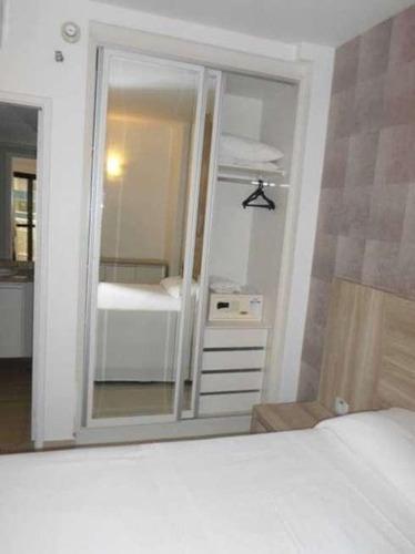 flat residencial à venda, boqueirão, santos.