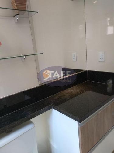 flat residencial à venda, braga, cabo frio. - fl0001