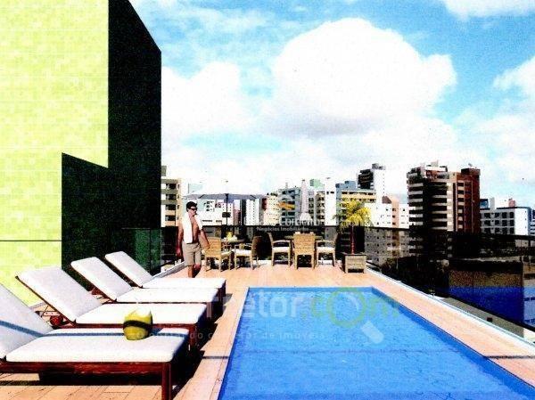 flat  residencial à venda, cabo branco, joão pessoa. - fl0005