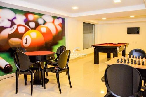 flat  residencial à venda, cabo branco, joão pessoa. - fl0007