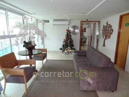 flat residencial à venda, cabo branco, joão pessoa. - fl0029