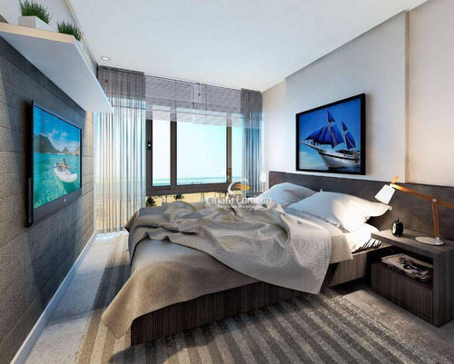 flat residencial à venda, cabo branco, joão pessoa. - fl0037