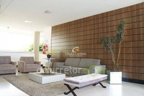 flat residencial à venda, cabo branco, joão pessoa. - fl0047