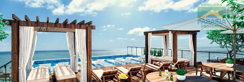 flat residencial à venda, cabo branco, joão pessoa - fl0052. - fl0052