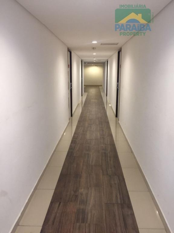 flat residencial à venda, cabo branco, joão pessoa. - fl0061