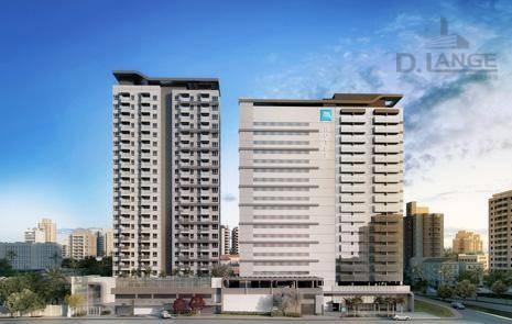 flat residencial à venda, centro, campinas. - fl0039