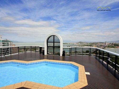 flat residencial à venda, centro, florianópolis. - fl0010