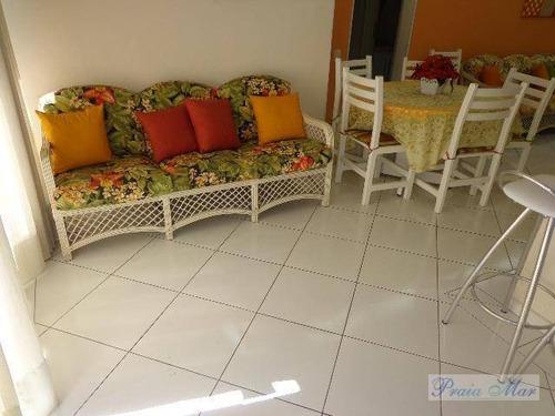 flat residencial à venda, centro, guarujá. - fl0064