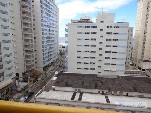 flat residencial à venda, centro, guarujá. - fl0065