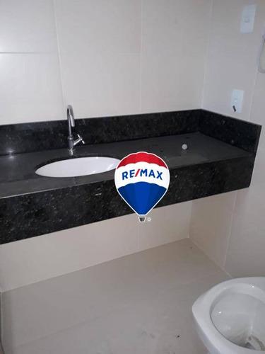 flat residencial à venda, centro, nova iguaçu. - fl0004