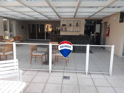 flat residencial à venda, centro, nova iguaçu. - fl0006