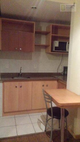 flat residencial à venda, centro, santo andré. - codigo: fl0002 - fl0002