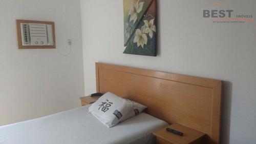 flat residencial à venda, centro, são vicente. - fl0016