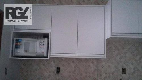 flat residencial à venda, centro, são vicente. - fl0018