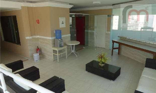 flat  residencial à venda, gonzaga, santos. - codigo: fl0007 - fl0007