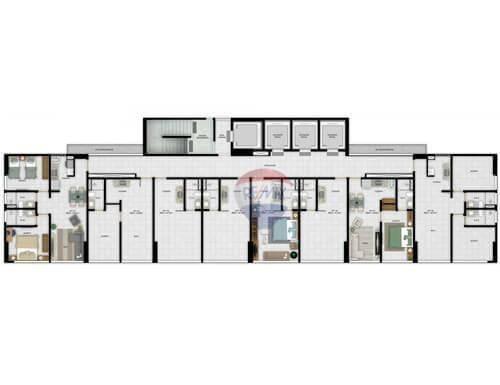 flat residencial à venda, ilha do leite, recife. - fl0036