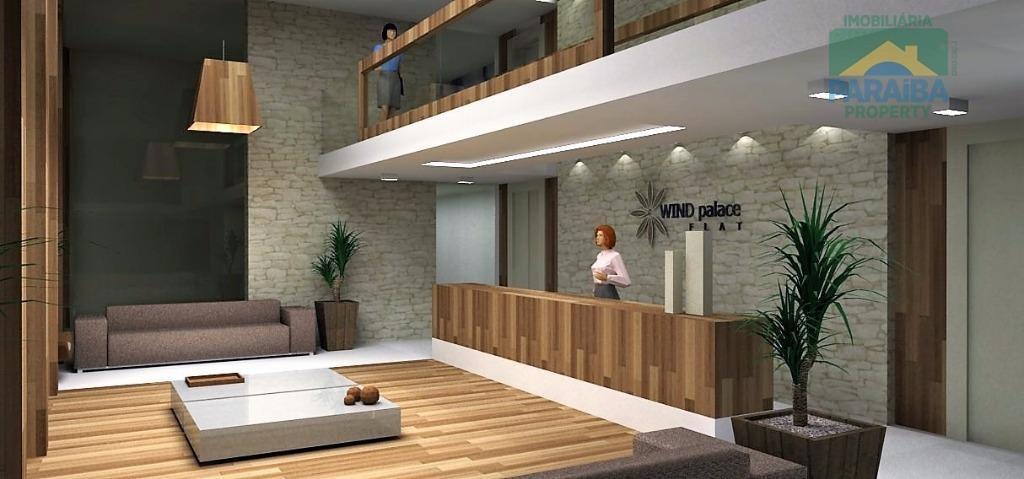 flat residencial à venda, intermares, cabedelo - fl0031. - fl0031