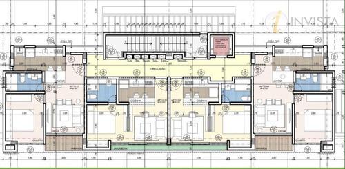 flat  residencial à venda, intermares, cabedelo. - fl0033