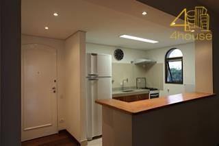 flat residencial à venda, jardim paulista, são paulo. - fl0011