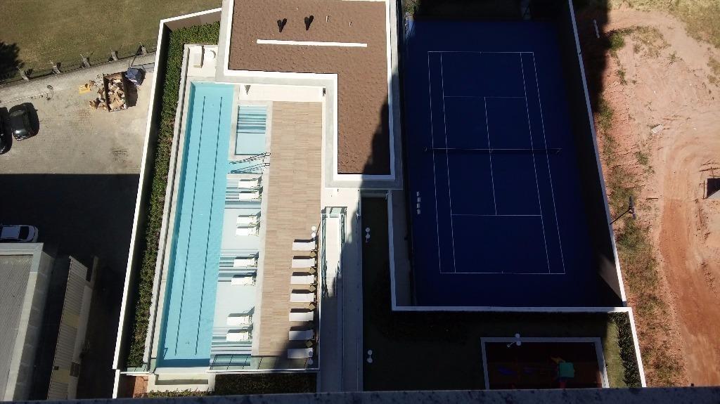 flat residencial à venda, parque campolim, sorocaba. - fl0003