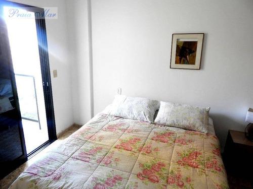 flat residencial à venda, pitangueiras, guarujá. - fl0115