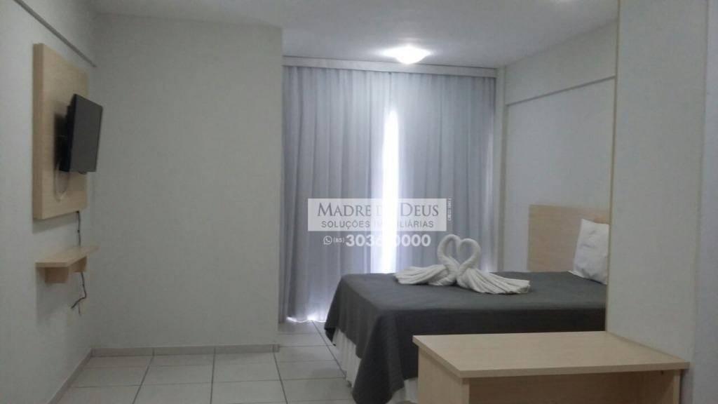 flat residencial à venda, ponta negra, natal. - fl0036