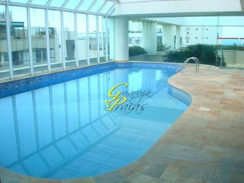 flat residencial à venda, praia de pitangueiras, guarujá. - codigo: fl0009 - fl0009