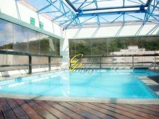 flat residencial à venda, praia de pitangueiras, guarujá. - codigo: fl0016 - fl0016