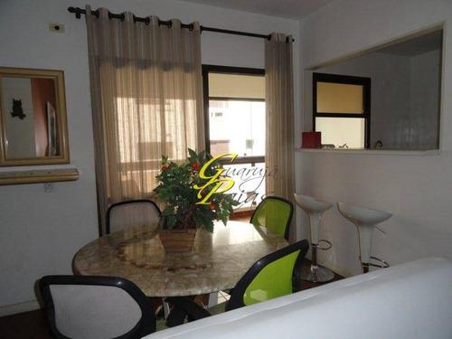 flat residencial à venda, praia de pitangueiras, guarujá. - codigo: fl0021 - fl0021