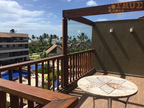 flat residencial à venda, praia muro alto, ipojuca. - fl0013