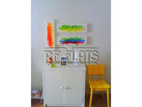 flat saint charles para locação na vila nova conceição - fla4995