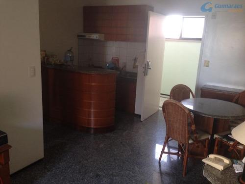 flat saint martin, mobiliado, vista mar, porteira fechada. - ap3046