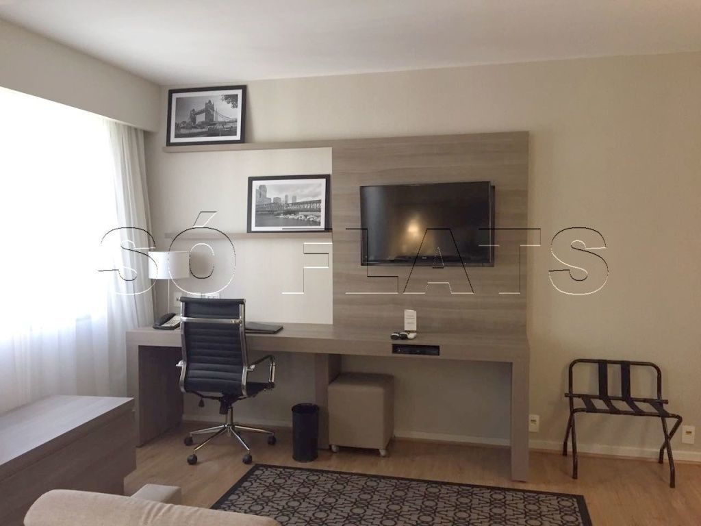 flat staybridge, no itaim bibi, excelente localização e ótimo empreendimento para morar ou investir - sf30366
