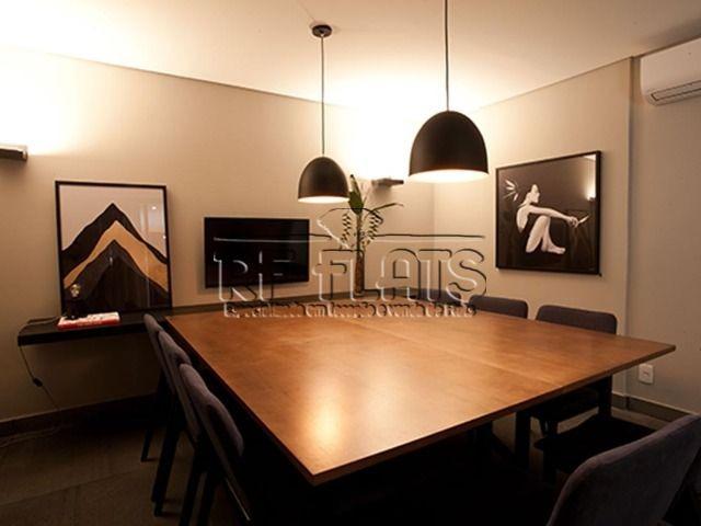 flat studio suzano para locação no itaim bibi - ref7082