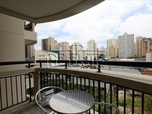 flat the capital para locação no itaim bibi - fla5157