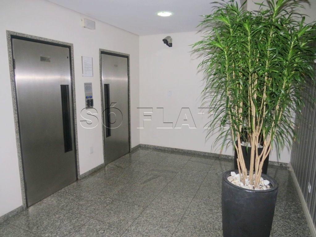 flat  todo mobiliado em moema excelente localização - sf25190