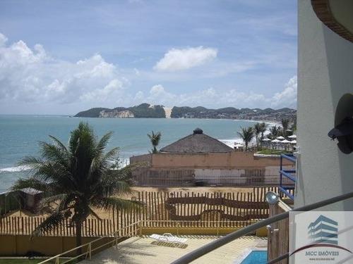 flat venda com vista para o mar em ponta negra natal rn