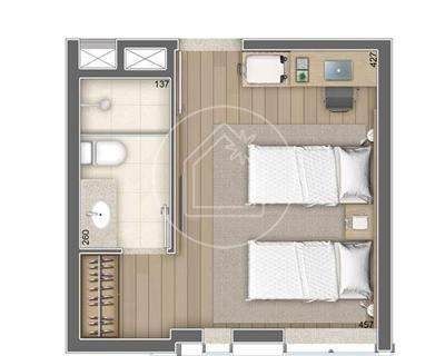 flat/aparthotel - ref: 804961