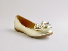 c5c791cb9 Zapatos Para Nina Chabelo Dorado - Zapatos en Mercado Libre México