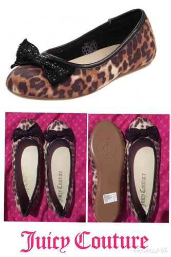 flats juicy couture 100% originales numero 7 americano