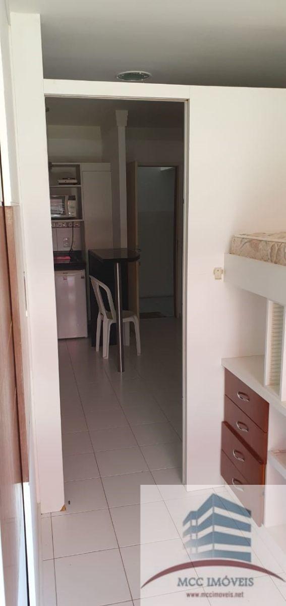flats mobiliados a venda hotel residence, lagoa nova