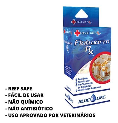flatworm rx removedor de planárias blue vet reef safe