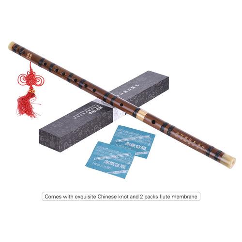flauta bambú amargo enchufable dizi tradicional hecho a mano