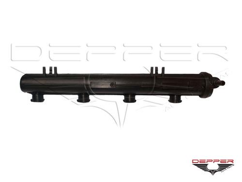 flauta combustível renault clio 1.0 16v peugeot 206 1.0 16v