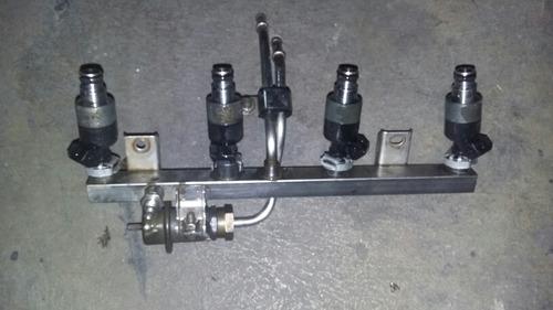 flauta con inyectores para corsa o chevy