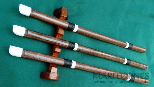 flauta de armónicos overtone flute celta pvc luthier