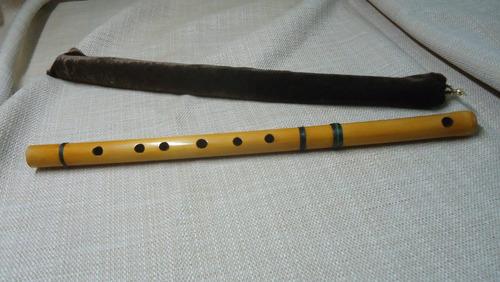 flauta de bambu transversal (pife/pífano)