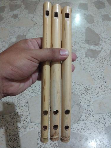 flauta de carrizo tradicional de chiapa de corzo