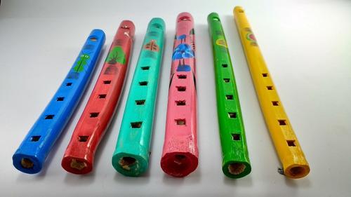 flauta de madera, juguete