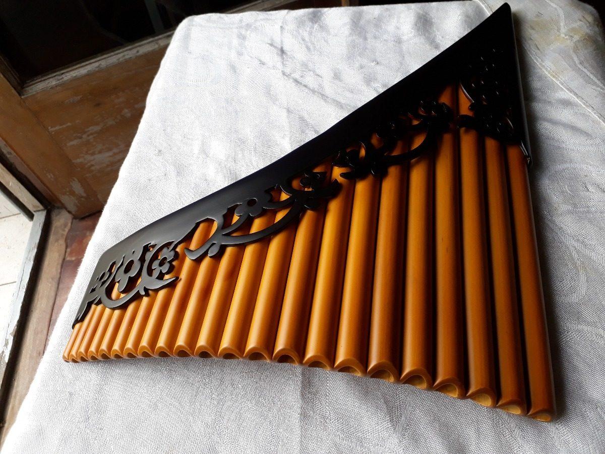 Flauta De Pan Profesional Diseño Tribal Nuevos Modelos 22 Tb
